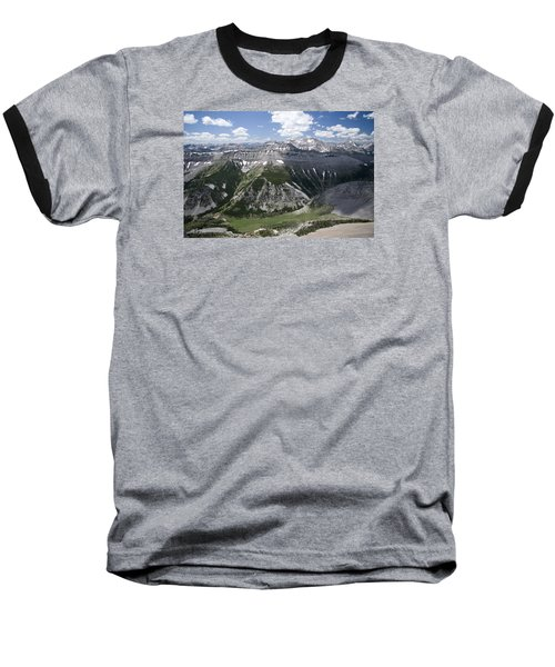 Bob Marshall Wilderness 2 Baseball T-Shirt
