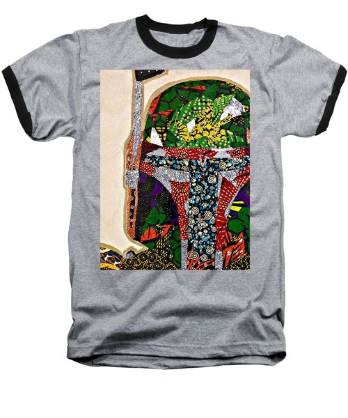 Boba Fett Star Wars Afrofuturist Collection Baseball T-Shirt