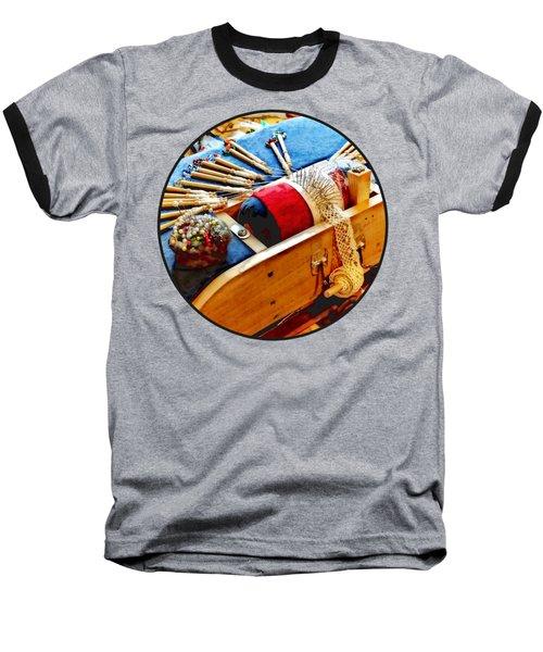 Bobbin Lace Baseball T-Shirt