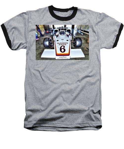 Bobby Unser's 1972 Indianapolis 500 Car. Baseball T-Shirt