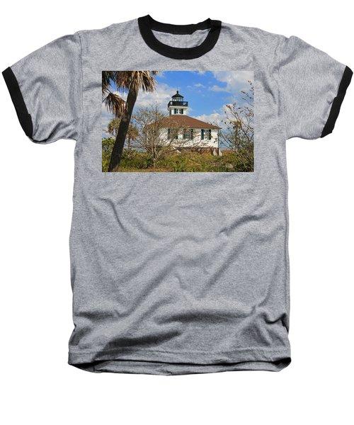 Baseball T-Shirt featuring the photograph Boca Grande Lighthouse View Two by Rosalie Scanlon