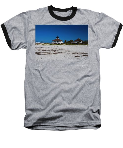 Baseball T-Shirt featuring the photograph Boca Grande Lighthouse X by Michiale Schneider