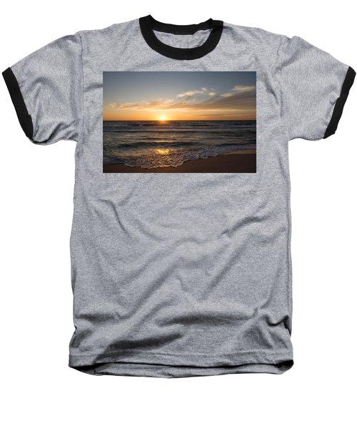 Boca Grande Sunset Baseball T-Shirt by John Black