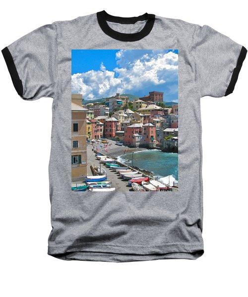 Boccadasse 2-genova, Italy Baseball T-Shirt