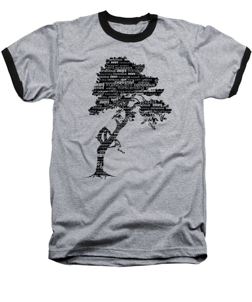 Baseball T-Shirt featuring the digital art Bodhi Tree Of Awareness by Tammy Wetzel