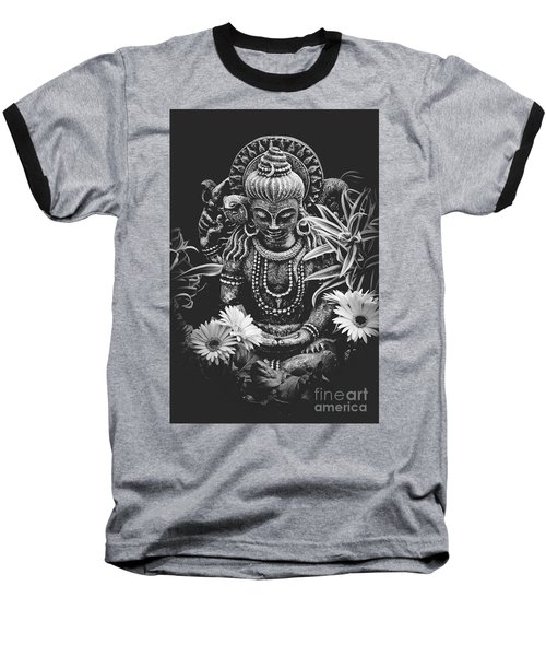 Baseball T-Shirt featuring the photograph Bodhisattva Parametric by Sharon Mau