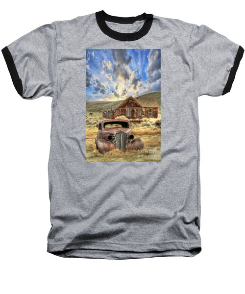 Bodie Ghost Town Baseball T-Shirt by Benanne Stiens