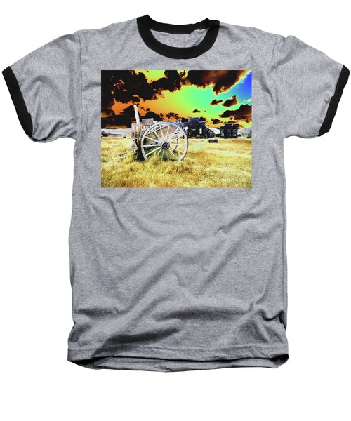 Bodie Wagon Baseball T-Shirt by Jim and Emily Bush