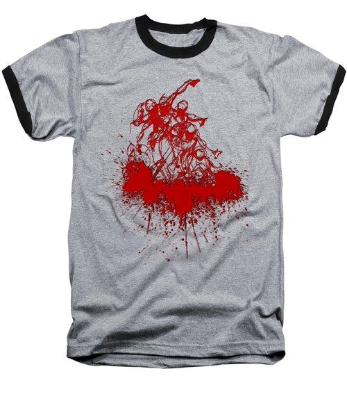 Body In Space Baseball T-Shirt