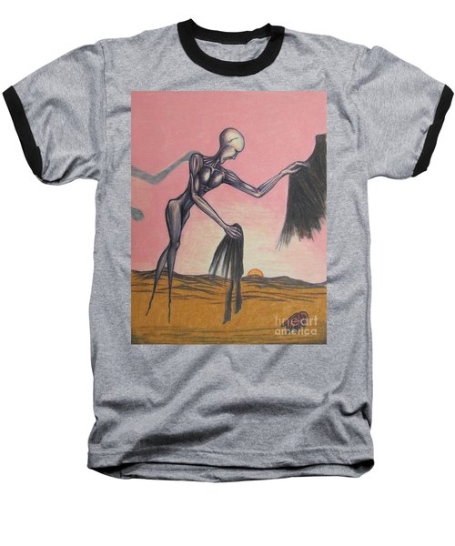 Body Soul And Spirit Baseball T-Shirt