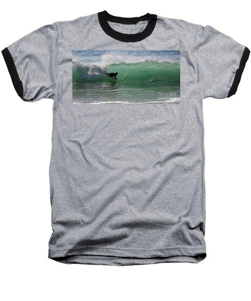 Body Surfer Baseball T-Shirt