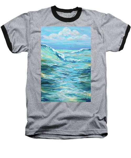 Bodysurfing Afternoon Baseball T-Shirt