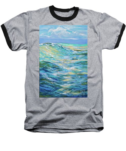 Bodysurfing North Baseball T-Shirt