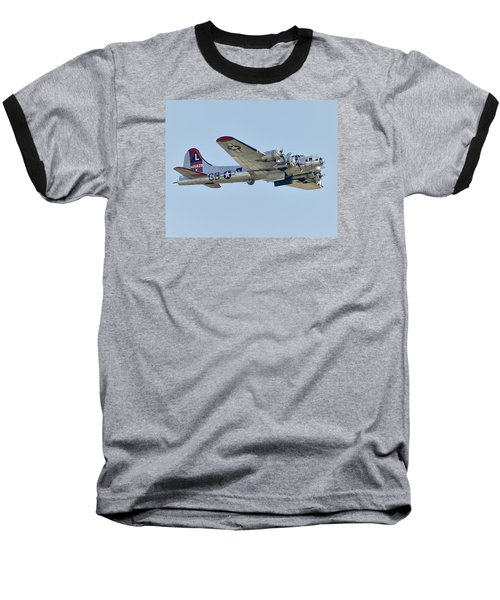 Boeing B-17g Flying Fortress Baseball T-Shirt by Alan Toepfer