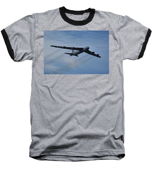 Boeing B-52h Stratofortress Baseball T-Shirt by Tim Beach