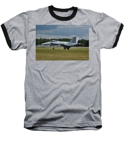 Boeing Super Hornet  Baseball T-Shirt by Tim Beach