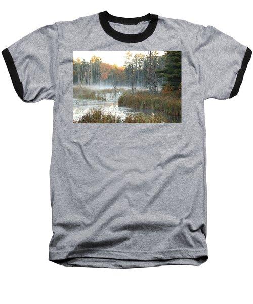 Bog Fog Baseball T-Shirt