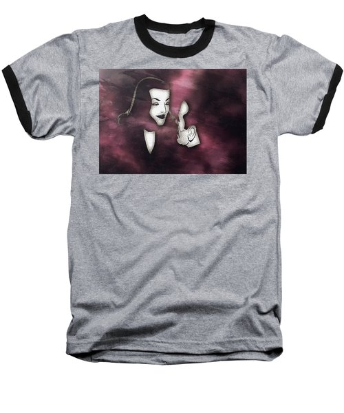 Bogart And Bacall Baseball T-Shirt
