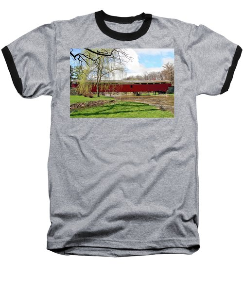 Bogert Covered Bridge Baseball T-Shirt