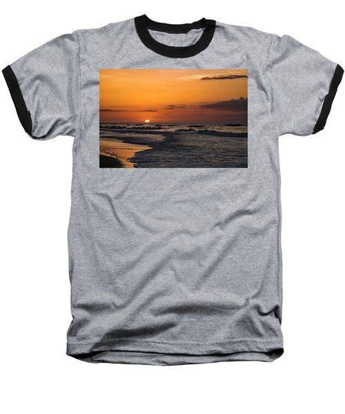 Bogue Banks Sunrise Baseball T-Shirt