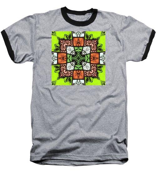 Boho Blocks Baseball T-Shirt