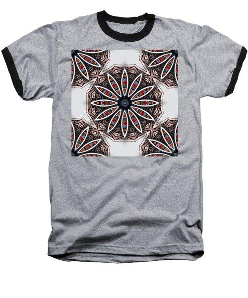 Baseball T-Shirt featuring the digital art Boho Flower by Mo T