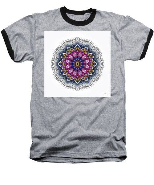 Baseball T-Shirt featuring the digital art Boho Star by Mo T