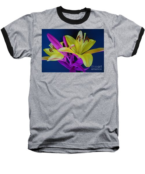 Baseball T-Shirt featuring the photograph Bold Beautiful Flowers by Ray Shrewsberry