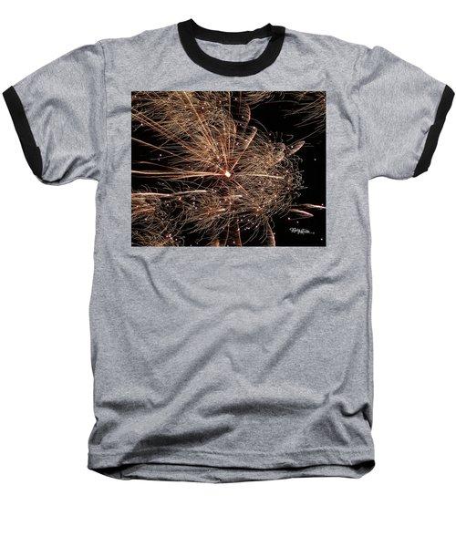 Baseball T-Shirt featuring the photograph Bold Burst #0711 by Barbara Tristan