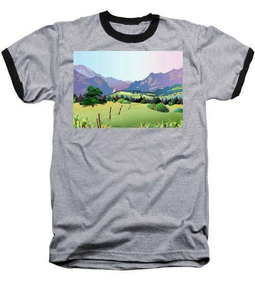 Bolder Boulder Poster 2009 Baseball T-Shirt