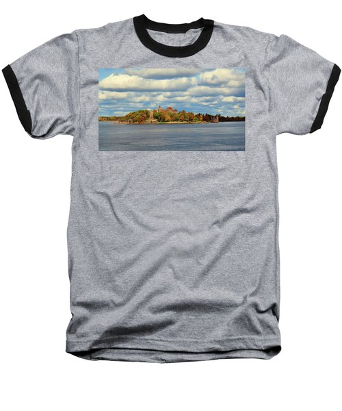 Boldt Castle Baseball T-Shirt