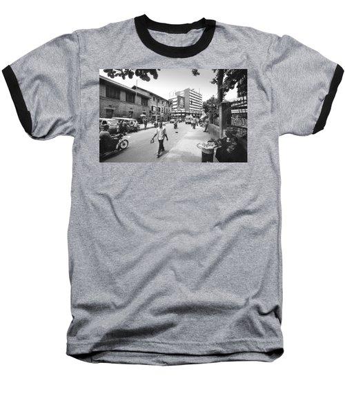 Broad Street Facing Cms Bus-stop Baseball T-Shirt