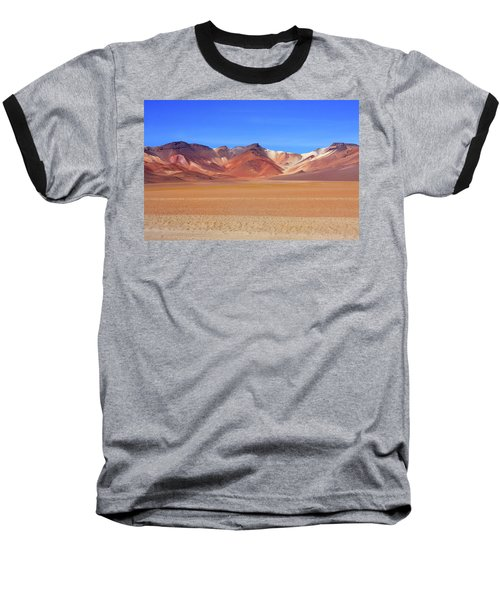 Bolivian Altiplano  Baseball T-Shirt by Aidan Moran