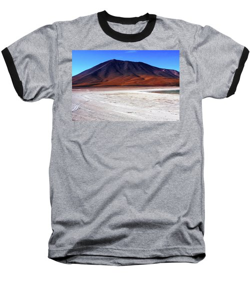 Baseball T-Shirt featuring the photograph Bolivian Altiplano, South America by Aidan Moran