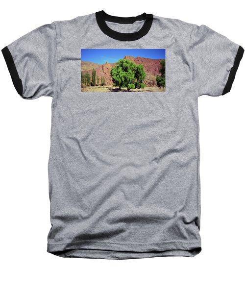 Bolivian Landscape  Baseball T-Shirt