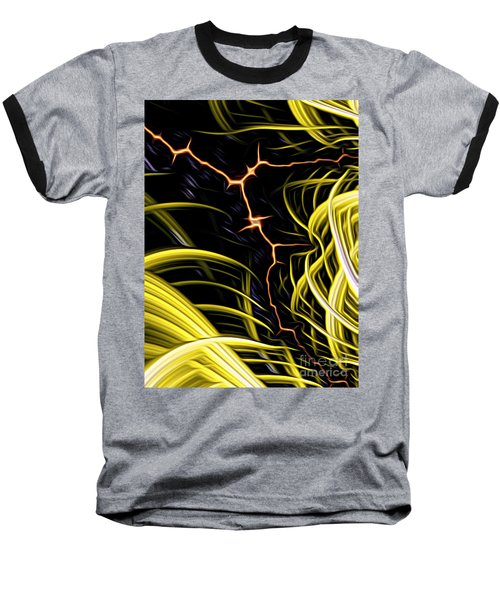 Bolt Through Baseball T-Shirt