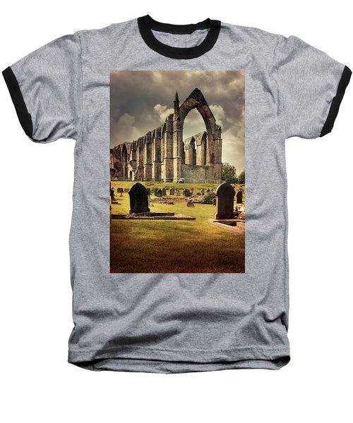 Bolton Abbey In The Uk Baseball T-Shirt by Jaroslaw Blaminsky
