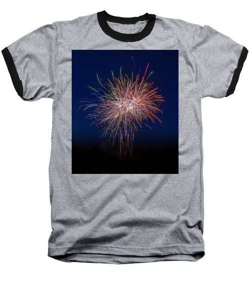 Bombs Bursting In Air Baseball T-Shirt