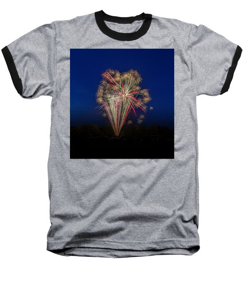 Bombs Bursting In Air II Baseball T-Shirt