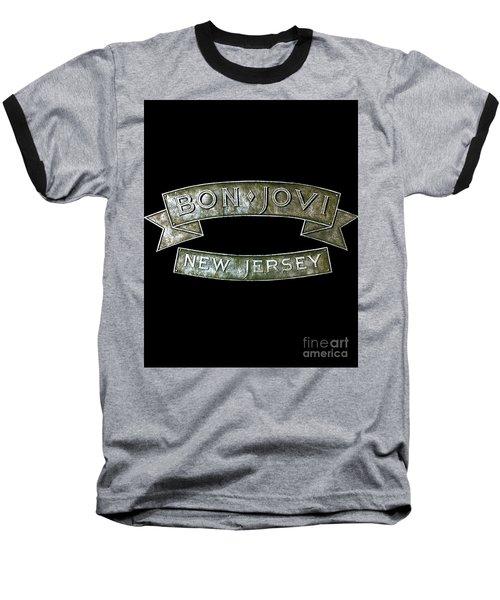 Bon Jovi New Jersey Baseball T-Shirt