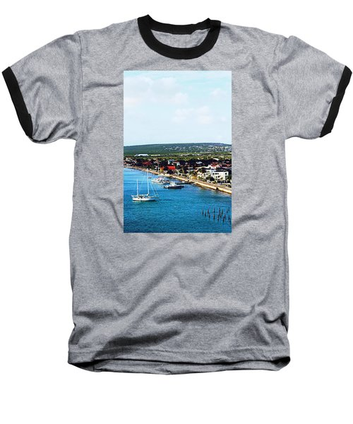 Bonaire Baseball T-Shirt by Infinite Pixels