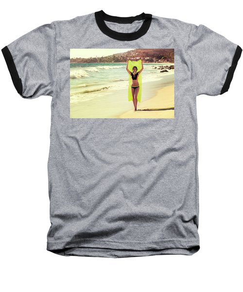 Bond Girl Laguna Beach Baseball T-Shirt