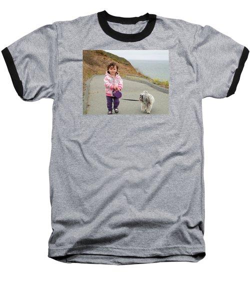 Baseball T-Shirt featuring the photograph Bond by Nick David