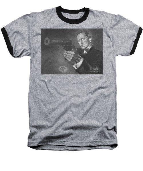 Bond Portrait Number 3 Baseball T-Shirt