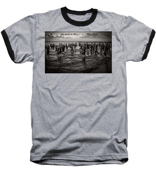 Bone Island Triathletes Baseball T-Shirt