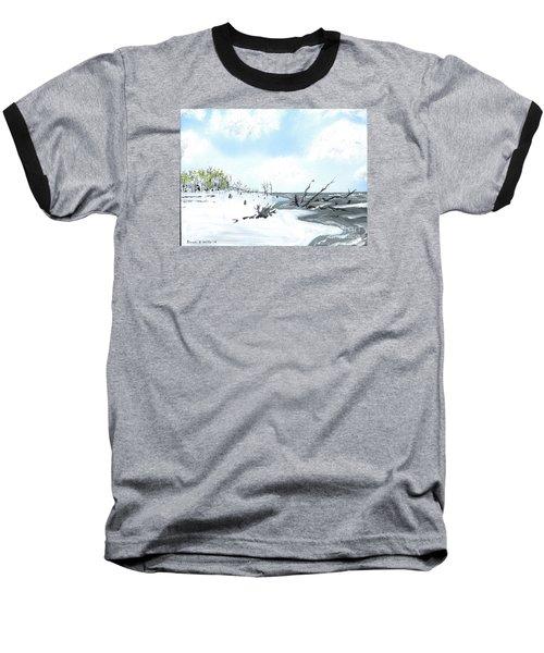 Bone Yard At Capers Island Baseball T-Shirt