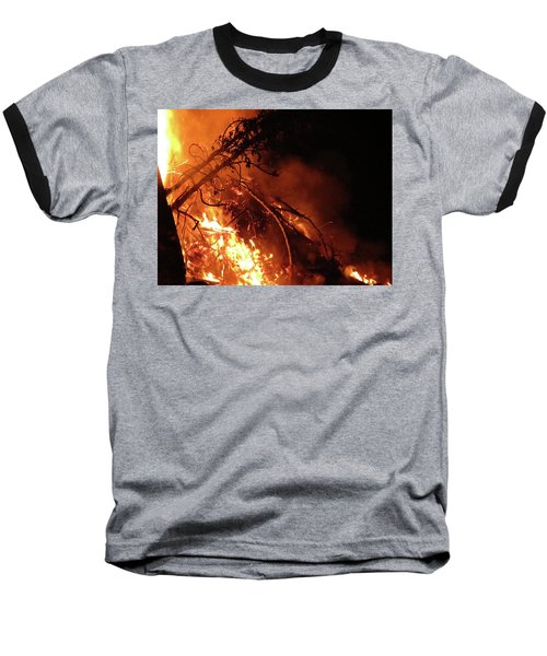 Bonfire Baseball T-Shirt