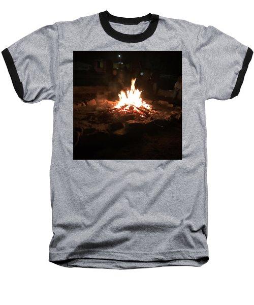 Bonfire Baseball T-Shirt
