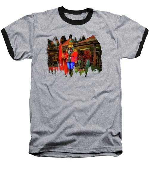 Baseball T-Shirt featuring the photograph Bonjour Hello Good Day by Thom Zehrfeld