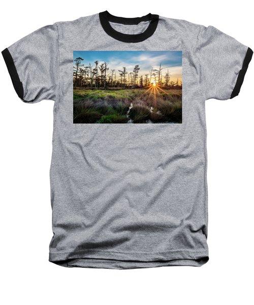 Bonnet Carre Sunset Baseball T-Shirt